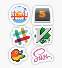 Web dev mix - Get the cool stuff here Sticker
