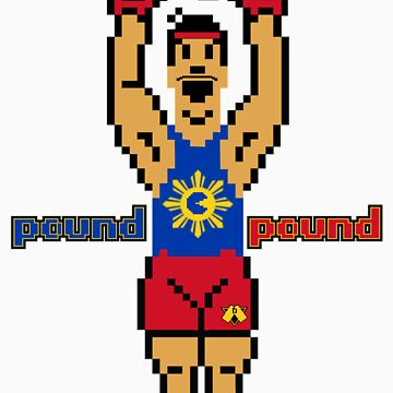 "DAV Brandz Manny ""Pacman"" Pacquiao 8-Bit Tee by DAVbrandz"