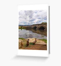 Ross bridge Greeting Card