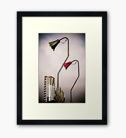 Lights Framed Print