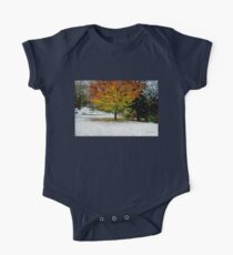 Beech Tree ~ Caught in a Snow Flurry Kids Clothes