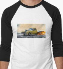 Toasty Tiprat Burnout Men's Baseball ¾ T-Shirt