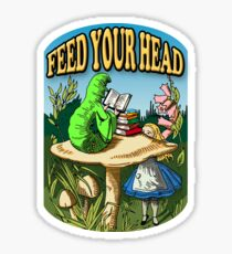 Feed Your Head Sticker