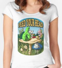 Feed Your Head Women's Fitted Scoop T-Shirt