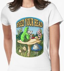 Feed Your Head Women's Fitted T-Shirt