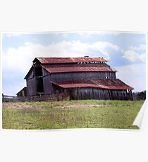 Old Weathered Barn Poster