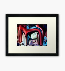 the yes brigade red Framed Print