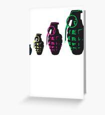 Grenade Babushka   Greeting Card