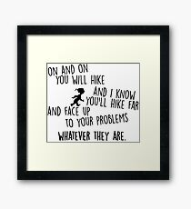Oh The Places You'll Go! Framed Print