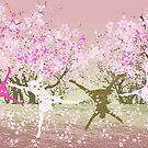 Hanami - Cherry blossom by Marlies Odehnal