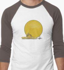 Music is The Sun Men's Baseball ¾ T-Shirt