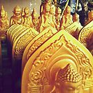 Miniature Army of Buddhas by Thet Htut