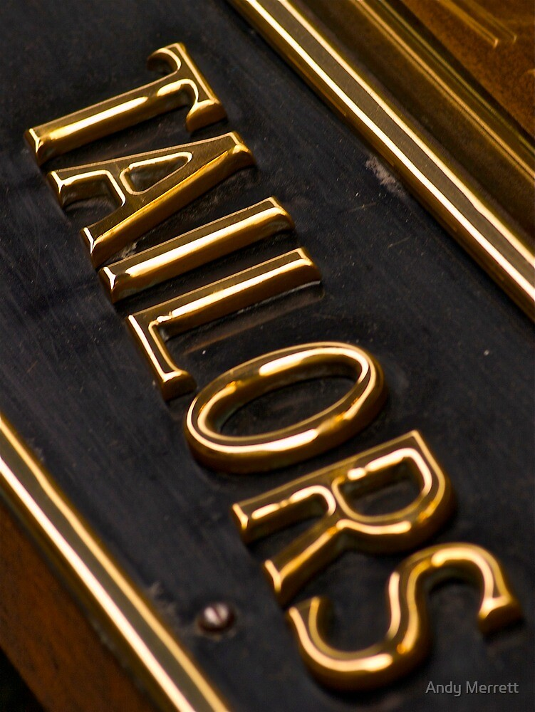 Tailors Sign by Andy Merrett