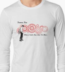 Drwho galigrafics Long Sleeve T-Shirt