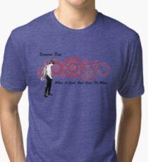 Drwho galigrafics Tri-blend T-Shirt