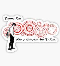Drwho galigrafics Sticker