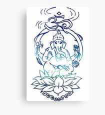 The One With Ganesha Canvas Print