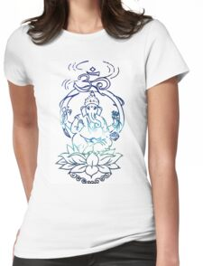 The One With Ganesha Womens Fitted T-Shirt