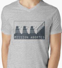 Mission Aborted Men's V-Neck T-Shirt
