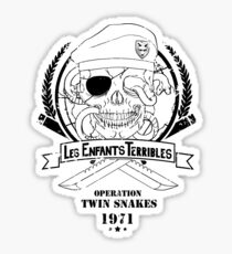Les Enfants Terribles (Big Boss Edition) Sticker
