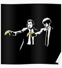 PULP FICTION BANANA. Poster