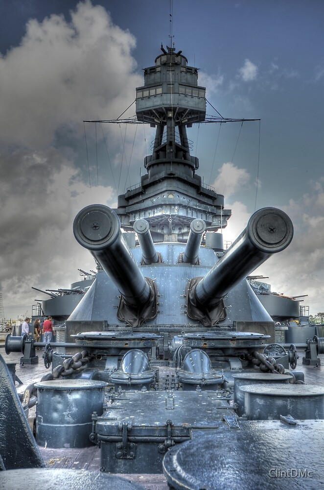 BB-35 (Battleship Texas) by ClintDMc