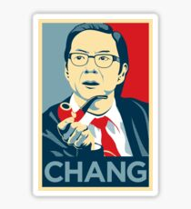 Chang We Can Believe In (Community) Sticker