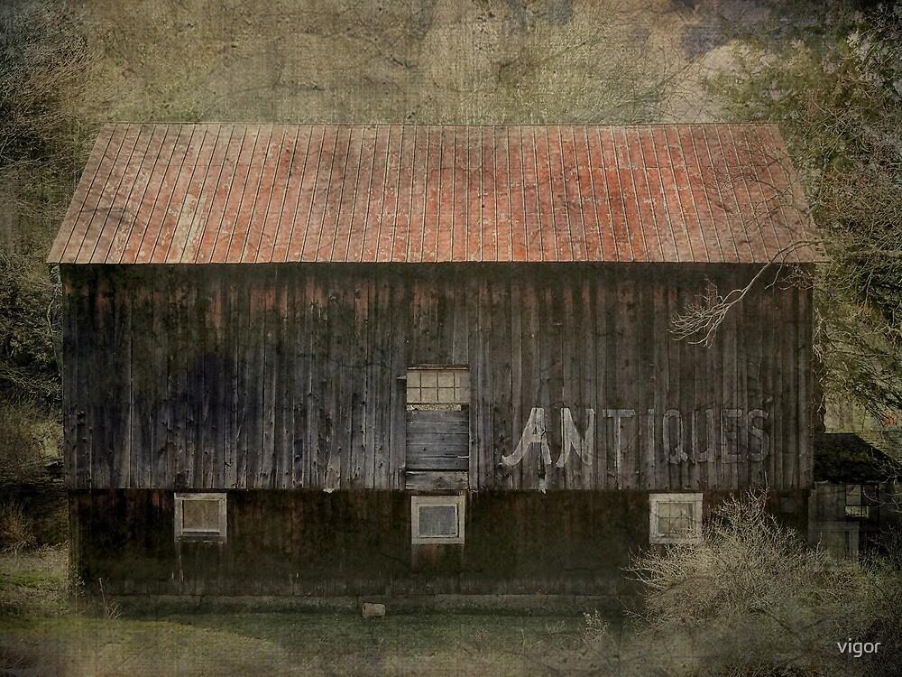 Antique Barn by vigor