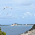 Paragliding at Rainbow Beach by TheaShutterbug