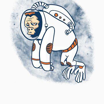 Astronaut Ape von Gimetzco