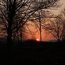 Sunset on the Spring Equinox by Rivendell7