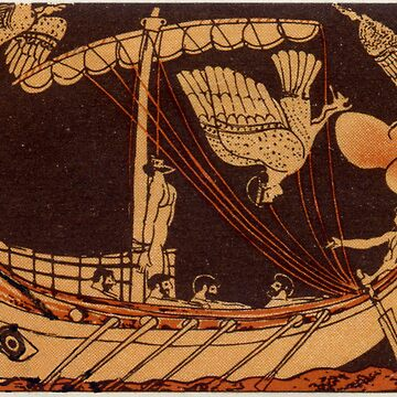 Odysseus with Sirens by GysWorks