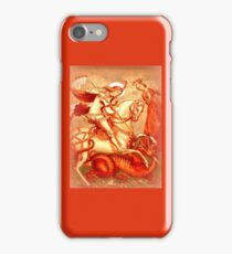 Saint George and the dragon iPhone Case/Skin