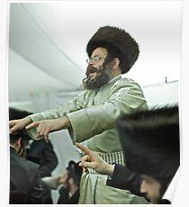 """Harcikn Dank ! A dank ojch zejer!   Shabat Shalom!   jest dniem """"świętego zgromadzenia""""  (III Mojż. 23,3). Poster"""
