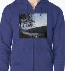 Glencoe, Scottish Highlands Zipped Hoodie