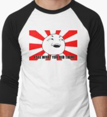 i see what you did there meme Men's Baseball ¾ T-Shirt