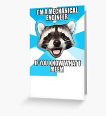 Tech Meme Greeting Card
