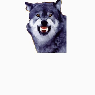 wolf meme by 305movingart