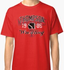 Thompson Wrestling 2 Classic T-Shirt