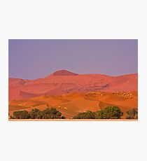 Dunes layered in pastel Photographic Print