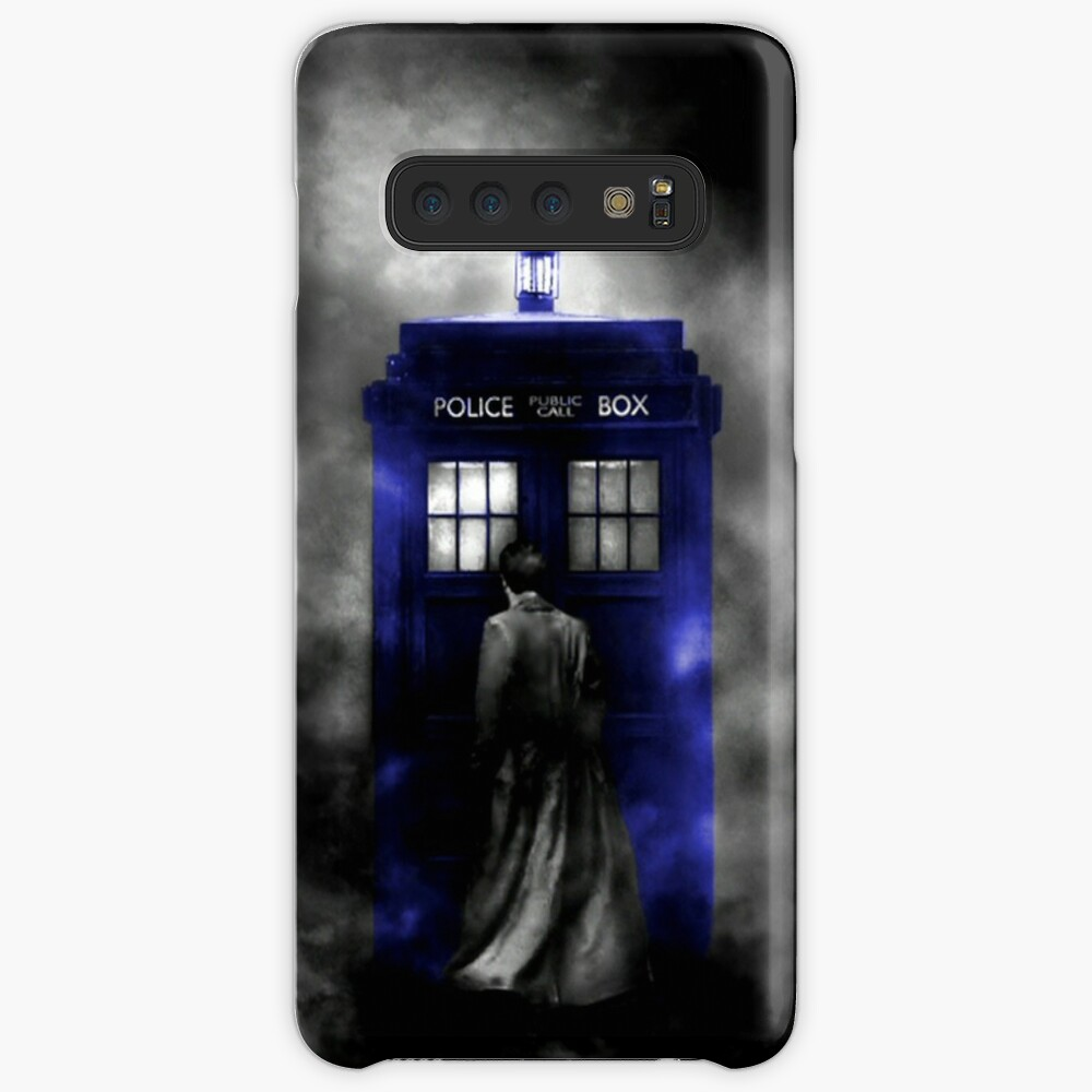 The Doctor and his blue box Case & Skin for Samsung Galaxy