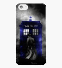 The Doctor and his blue box iPhone 5c Case
