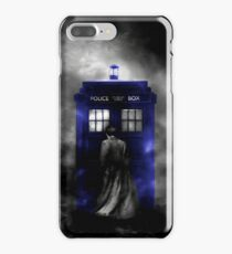 The Doctor and his blue box iPhone 7 Plus Case