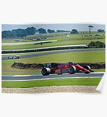 1985 F1 Ferrari  Poster