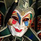 Venice carnival mask by John Ryan
