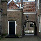 St Agathaplein, Delft by Henk van Kampen