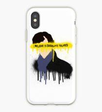 I believe in Sherlock Holmes iPhone Case