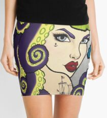 Tentacle Pin Up Mini Skirt