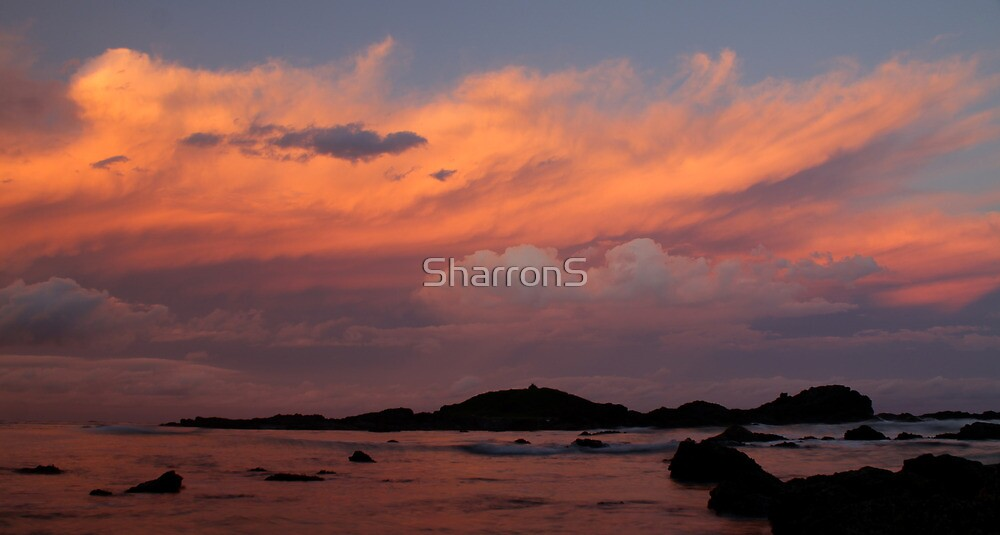 Tricolour sunset by SharronS