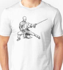 Shaolin Warrior Monk (Kung Fu / Wushu) T-Shirt